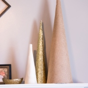 DIY Christmas Cone | Fairhome Road