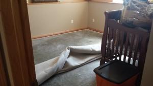 Basement Flood - Landon's Room | Fairhome Road