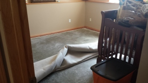 Basement Flood - Landon's Room | Fairhome Road